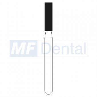 Diamantbohrer FG (5 St.), Zylinder flach, 836-016 grob